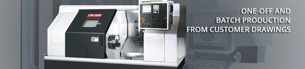 Single-piece and short-run production of components according to customers drawings